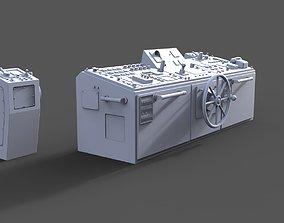 Control station 3D print model