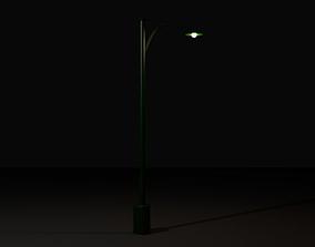 3D model exterior lantern Street Light