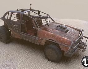 Vehicle 4x4 3D model low-poly