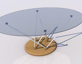 futurista 3D Glass table