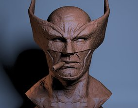 3D printable model Wolverine Clay