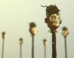 3D model Scary Skulls of Africa