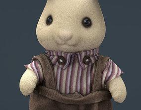 Rabbit Father 3D asset