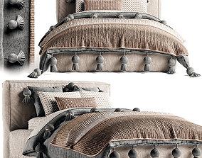 RH Brook Bed 3D