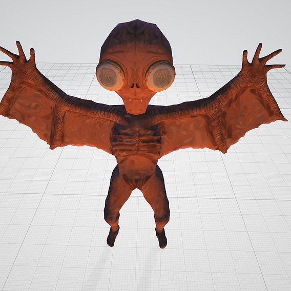 Blind Bat Monster