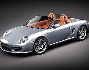 3D Porsche Boxster 2011