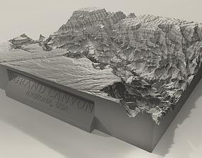 3D Printable Grand Canyon Landscape Plinth