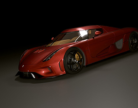 3D Koenigsegg Regera