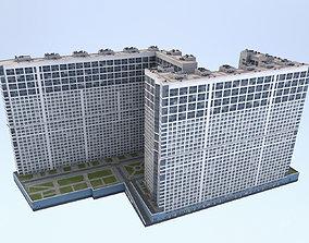 MSK Building 23 airbus 3D asset