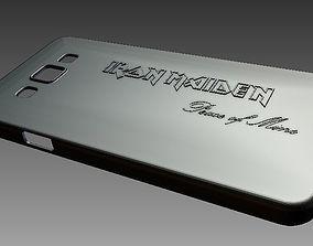 3D print model Samsung Galaxy A3 Case Cover- Iron Maiden