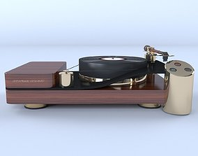 resolution 3D model Turntable