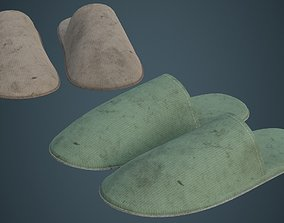 3D asset Slipper 2B