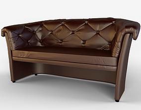 Sofa Hilton 3D model