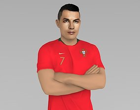 Cristiano Ronaldo Portugal ready for full color 3D