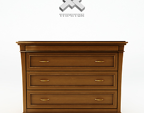 3D Chest of Drawers - Diamond