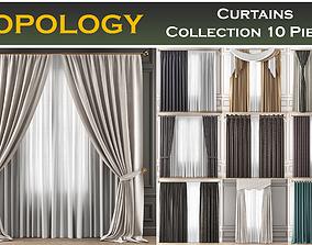 3D model Curtains Collection 10 Pieces