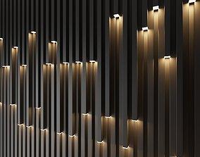 wall decorative light 3D