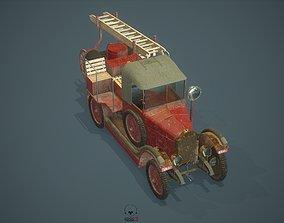 AMO f15 FireTruck 3D model