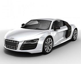 Audi R8 V10 2010 3D