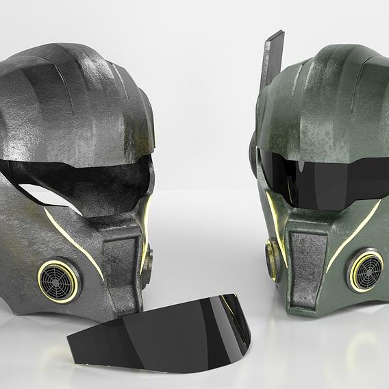 Helmet (Warrior 2084)