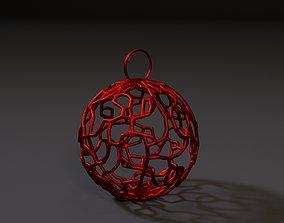 Christmas ball 3D print model decoration