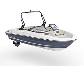3D Motorboat Bayliner VR 4
