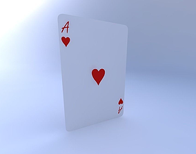 3D model Ace of Hearts