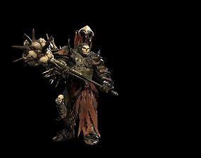 Ork juggernaut 3D model animated