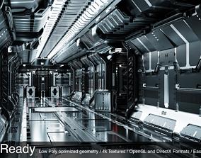 3D asset SciFi Props - GameReady