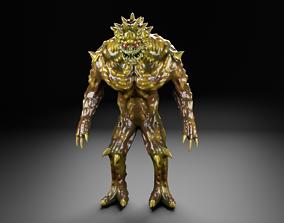 Hunter alien UFO creature monster 3D model