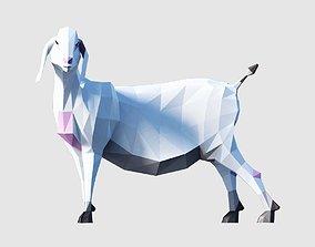 Goats 3D asset