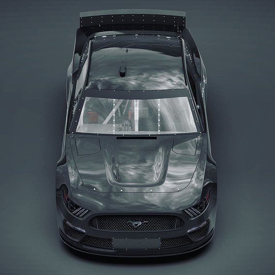 Ford Mustang 2019 Nascar Cup