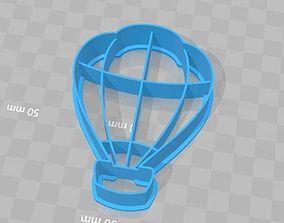3D printable model Hot Air Balloon Cookie Cutter