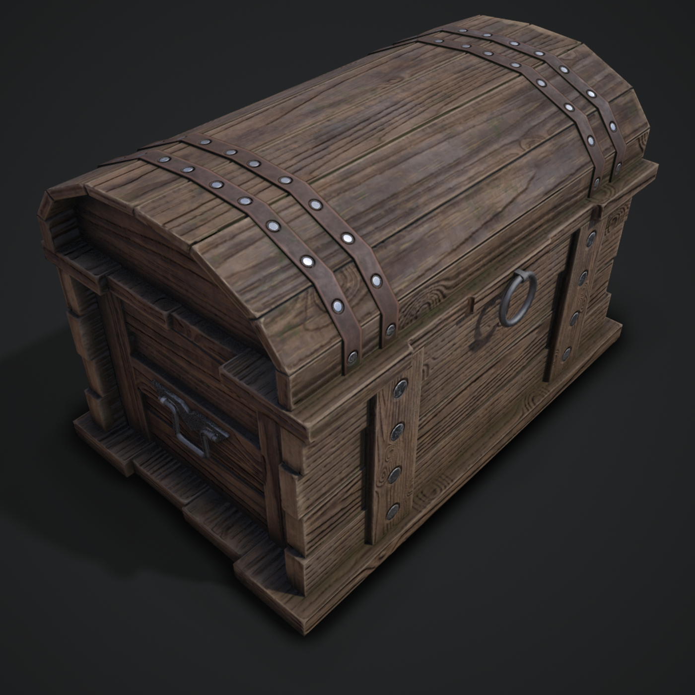 chest wood and timelapse