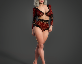 3D rigged Eliana For Genesis 8 Female