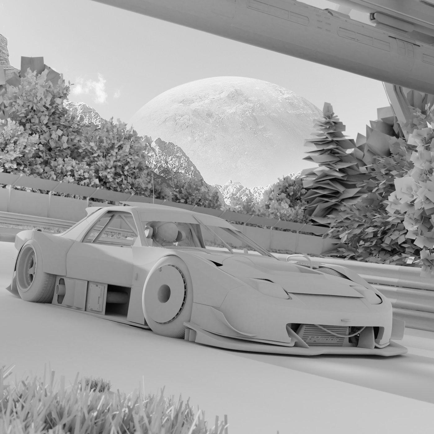 RX7 FC Super GT