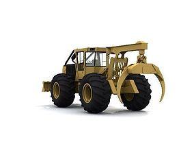 3D Log Splitter