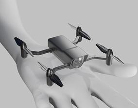 3D asset Air recon mini drone