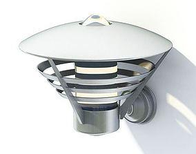 3D Stainless Garden Lamp