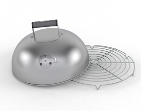 3D model Melting Dome with Bonus Wire Rack