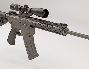 Wilson Combat Recon Tactical 3D model