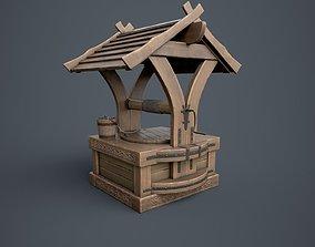 3D asset Well with Bucket