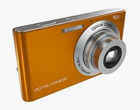 3D model Digital compact camera 01