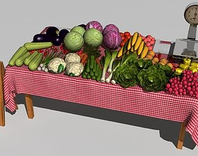 3D Vegetable stand