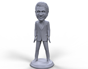 Bill Clinton stylized high quality 3D printable miniature