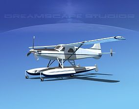 3D model DeHavilland DHC-2 Turbo Beaver V09