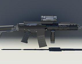 3D asset AK5Cesar