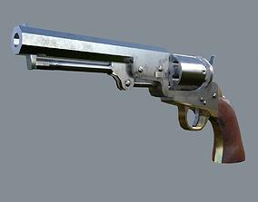 Colt 1849 Pocket Revolver 3D model