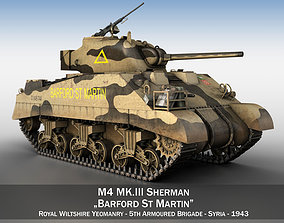 M4 Sherman MK III - Barford St Martin 3D model
