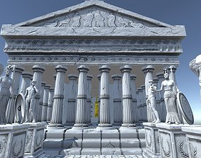 Ancient Greek City Pack I 33 GameReady VR / AR ready